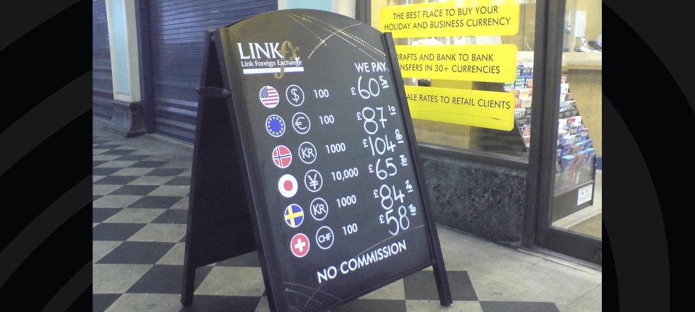 LINK fx A Frame