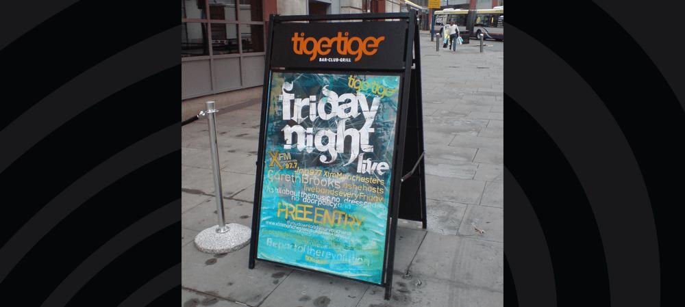 Tiger Tiger A Frame