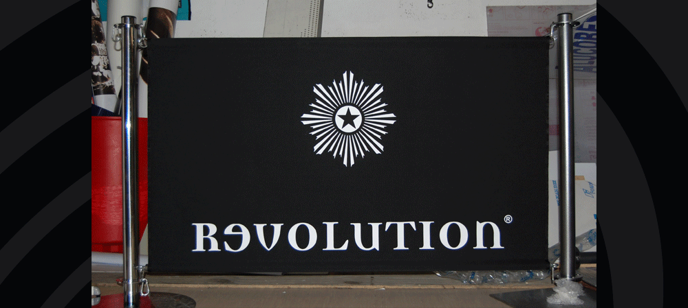 Café style banners for Revolution