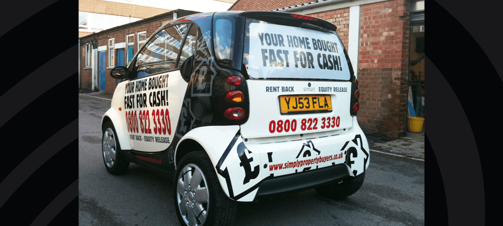 Vehicle livery for Simply Property Buyers