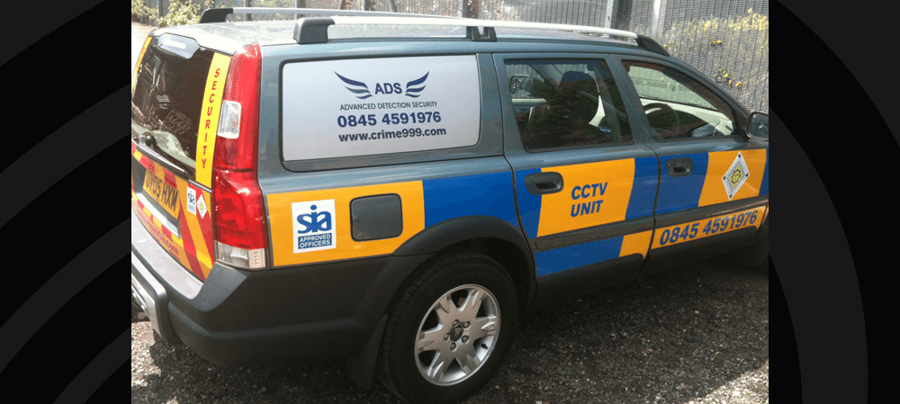 Vehicle livery for ADS Security