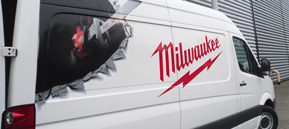 Vehicle livery for Milwaukee