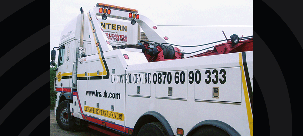 Vehicle livery for Lantern Recovery