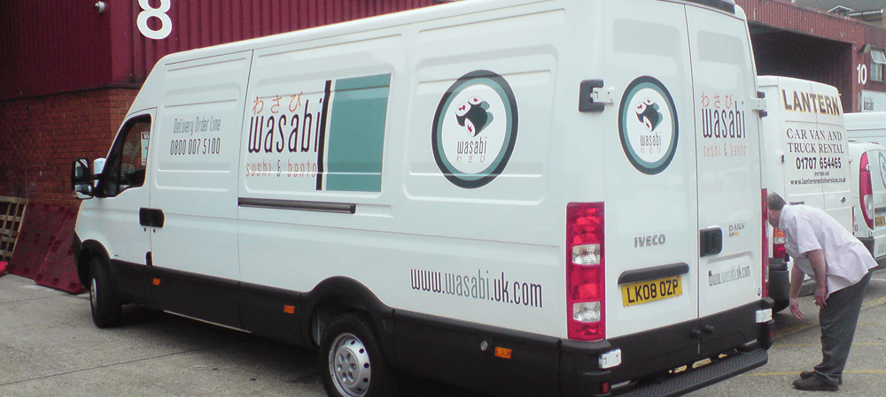 Vehicle livery for Wasabi