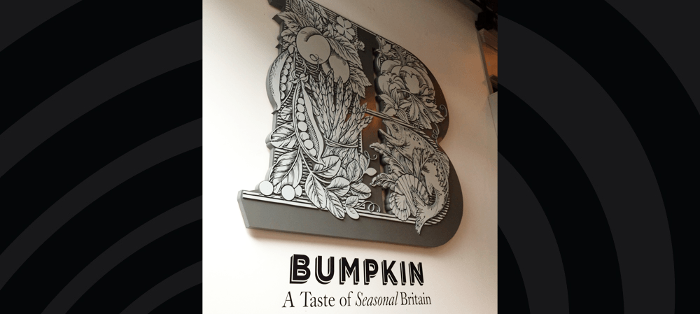 bumbkin internal signage
