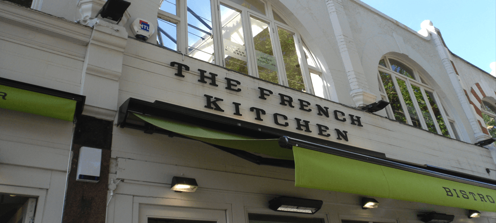 The french kitchen signage