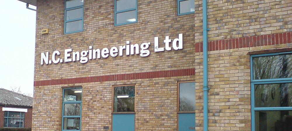 NC Engineering signage