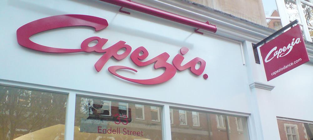 Capezio shopfront
