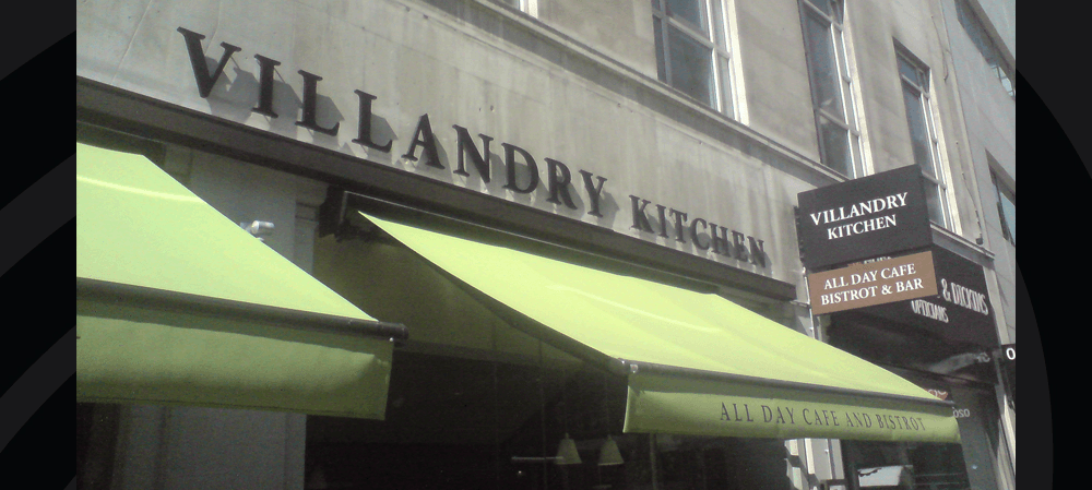 Grand Café Villandry exterior Signage