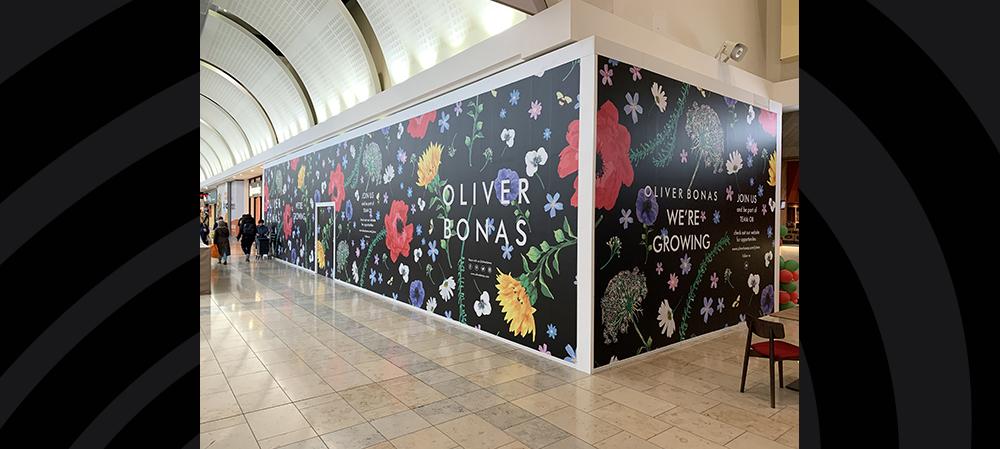oliver bonas wall graphics