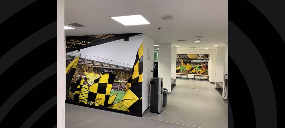 watford FC wall graphics