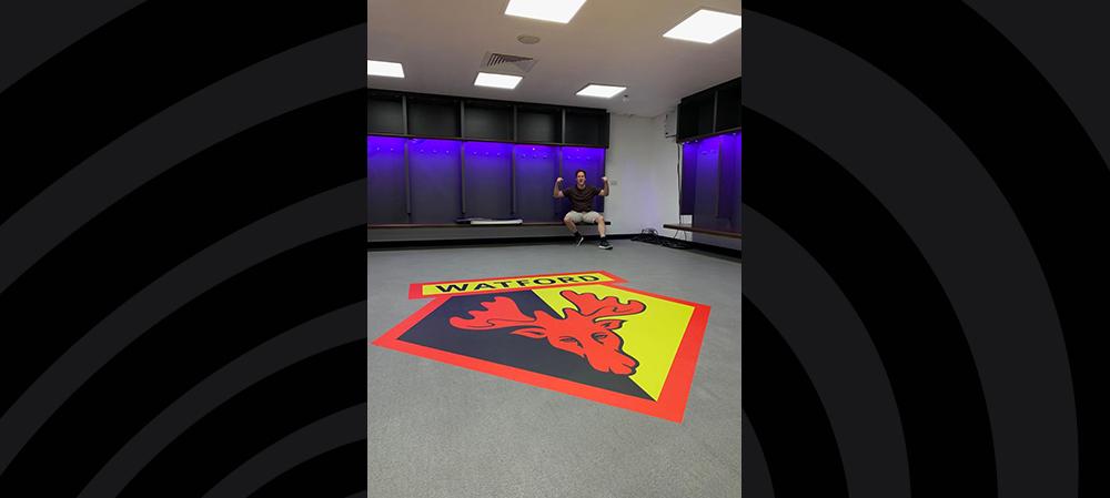 watford FC floor graphics