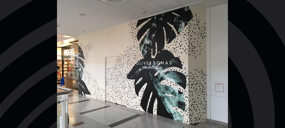oliver bonas opening soon wall graphics