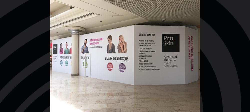 pro skin digital printed opening soon display
