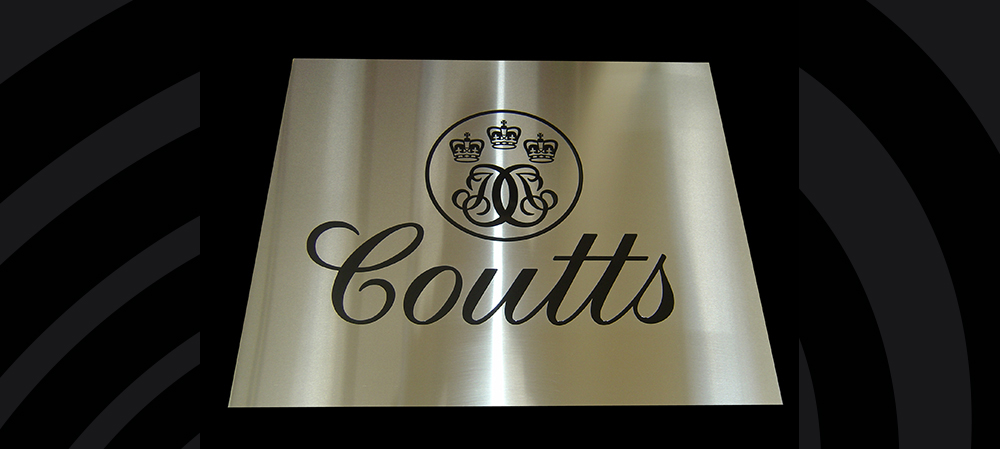 coutts engraved logo