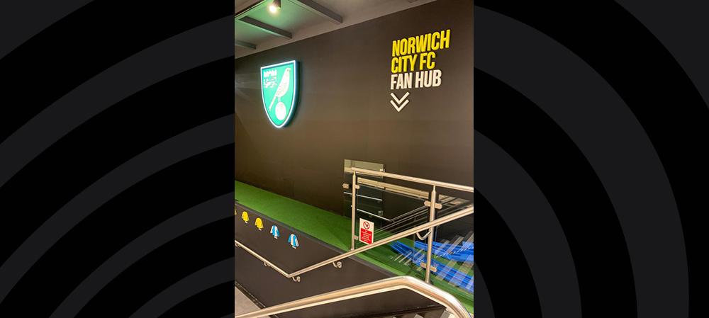 norwich city fc signage
