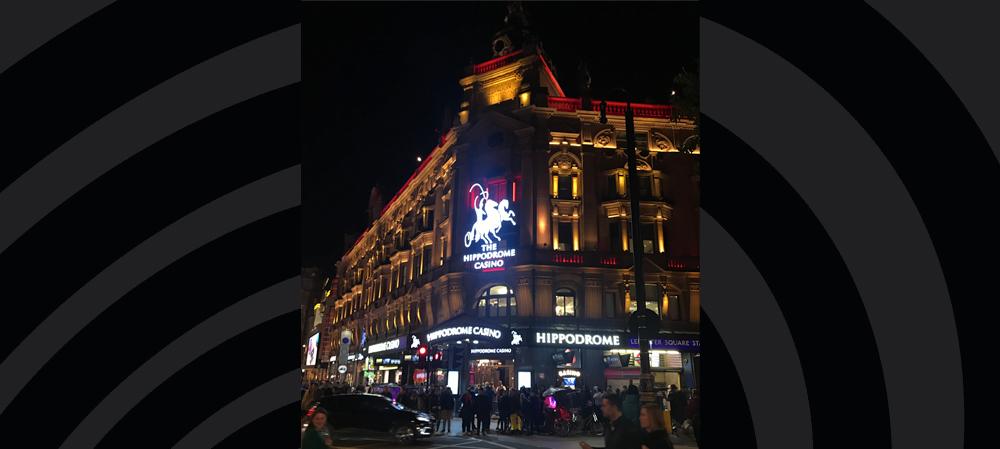 the hippodrome illuminated general signage