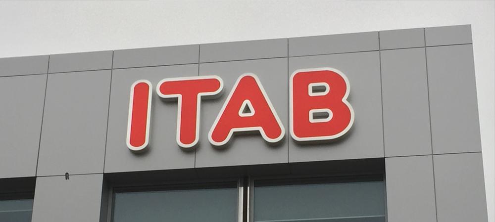 ITAB signage