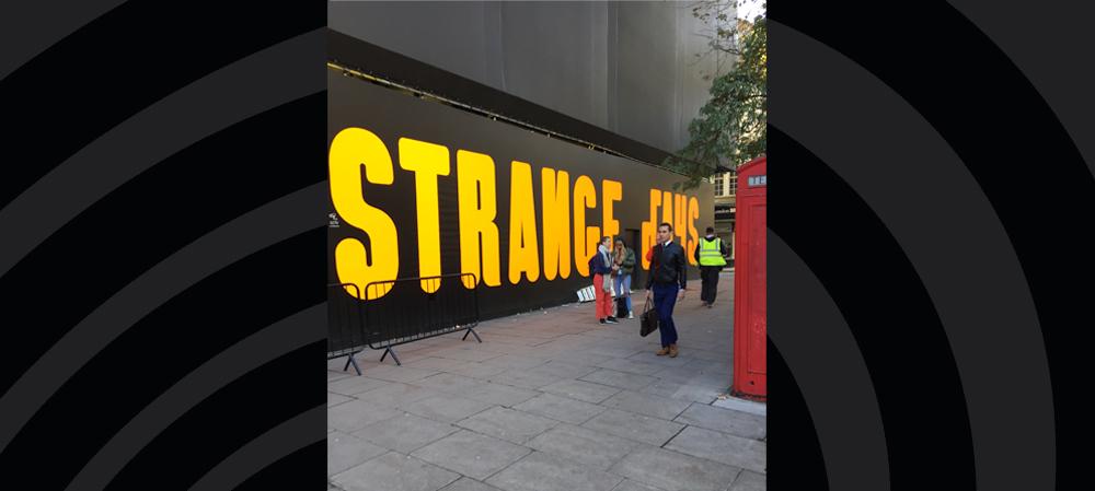 strange days general signage