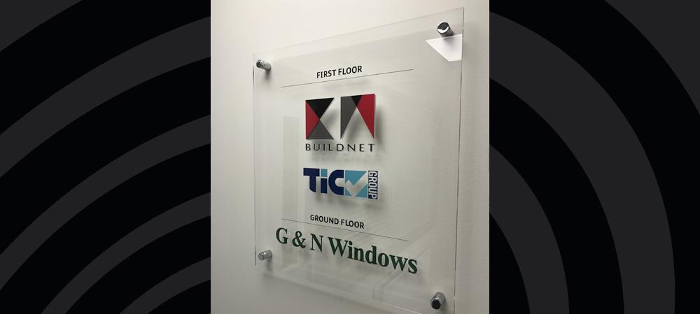 g & n windows sign