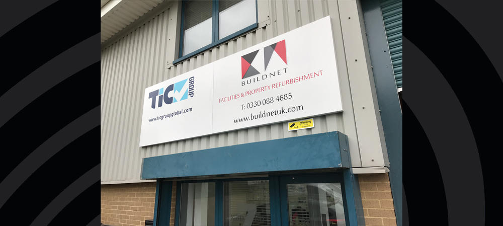 build net UK general entrance signage