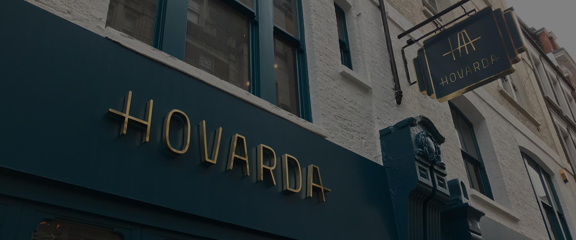 hovarda external signage