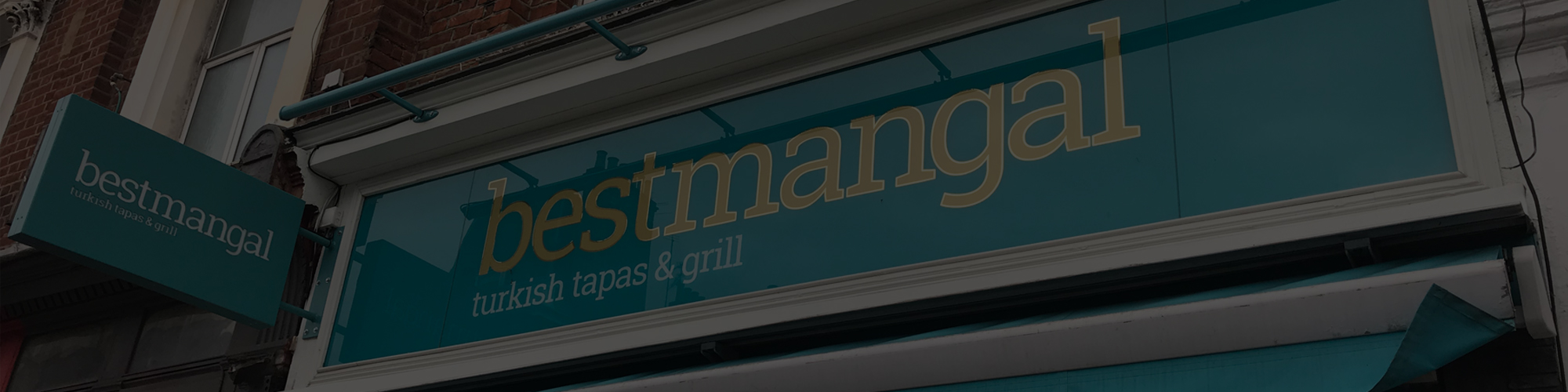 best mangal turkish tapas & grill external shopfront signage