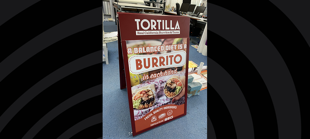tortilla stand