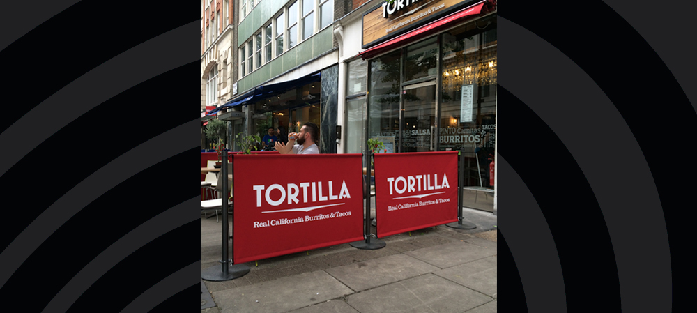 tortilla cafe style banners