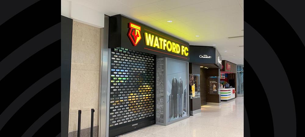watford fc external signage
