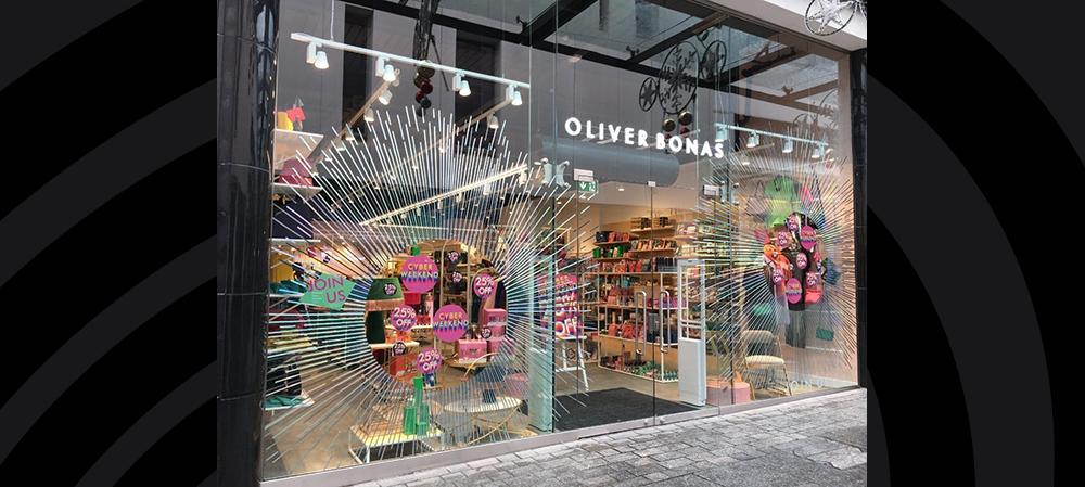 oliver bonas external illuminated signage