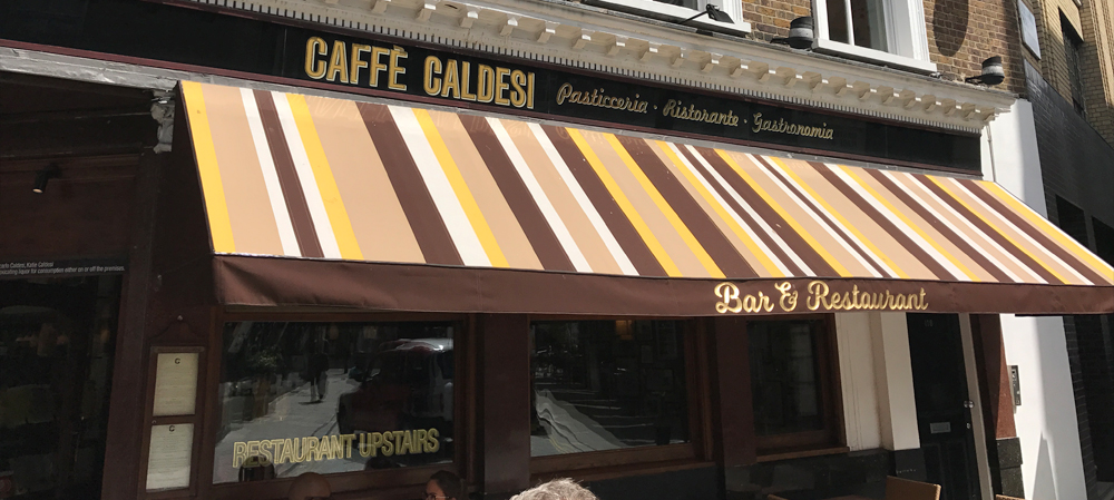 caffe caldesi bar and restaurant