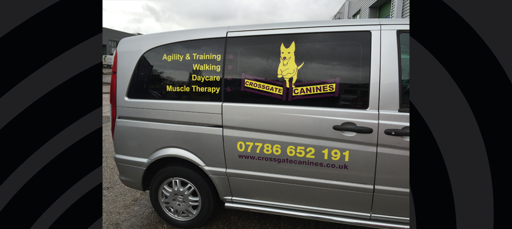 vehicle livery for crossgate canines