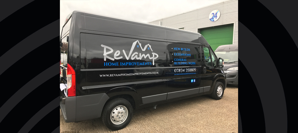 vehicle livery for revamp home improvements