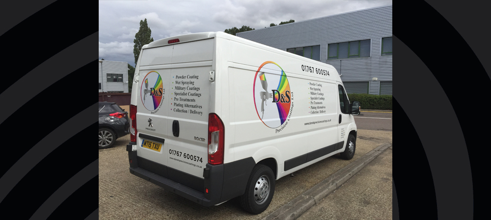 vehicle livery for D&S